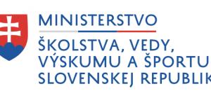 logo ministerstvo skolstva vedy vyskumu sportu